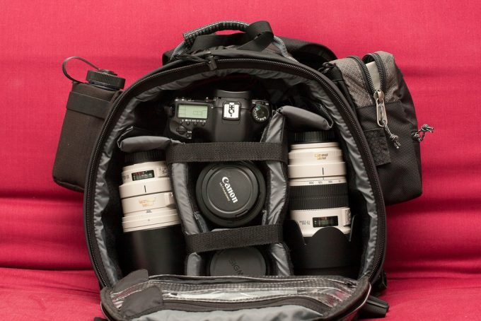 backpacking camera bag