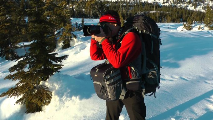 hiking with camera backpacks