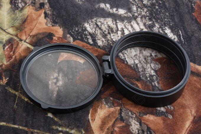 rifle scope lens