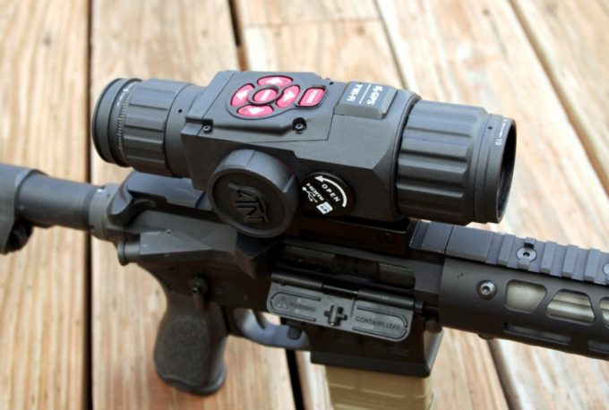 smart night vision riflescope