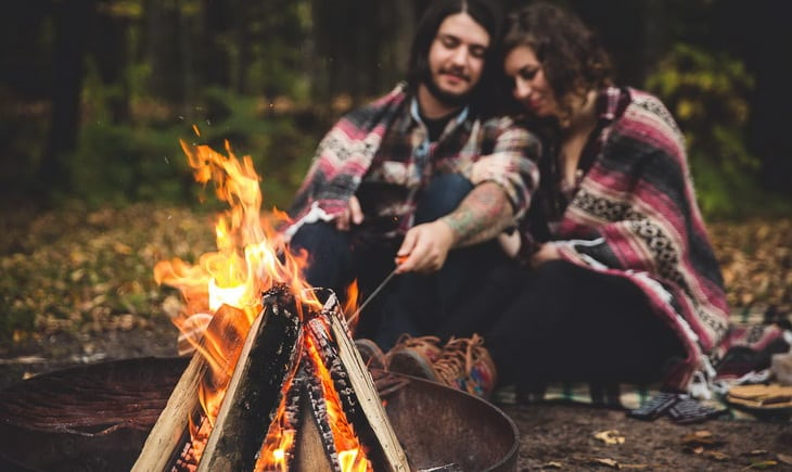 Romantic Camping Ideas Make The Most Of Your Two Loves