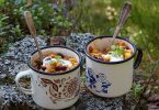 vegan backpacking food featured