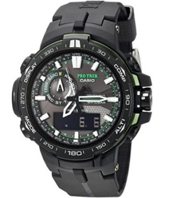 Casio Pro Trek Black Analog-Digital