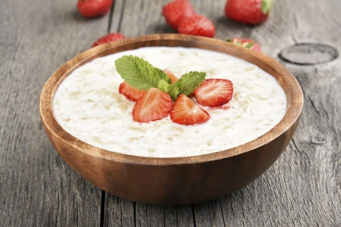 Strawberry Cream of Wheat