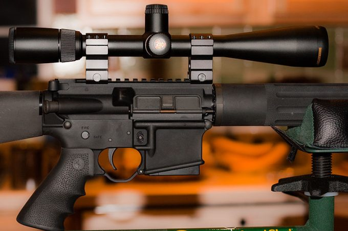 AR Scope Magnification