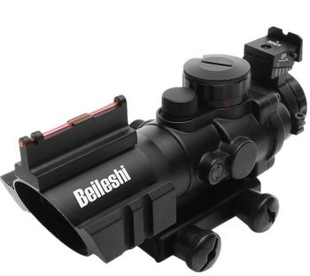 Beileshi Triple Illuminated Rapid Range Reticle Rifle Scope