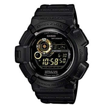 Casio G9300GB-1 Digital Quartz Solar Watch