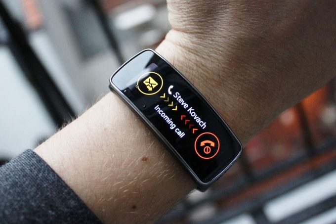 Fitness Watch Notifications