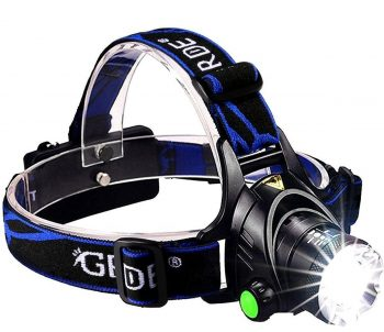 GRDE Zoomable LED Headlamp