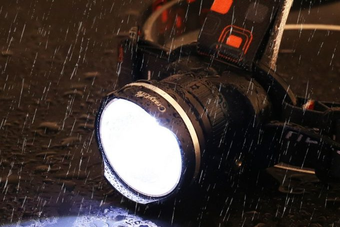Headlamp Water Resistance