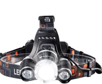 Icefox Rechargeable Super Bright LED Headlamp
