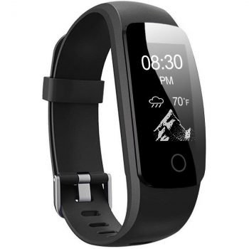 Lesfit HR Fitness Tracker