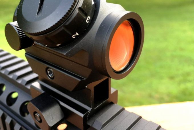 Mounted Red Dot Sight