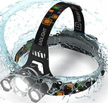 MsForce 18650 Rechargeable LED Headlamp