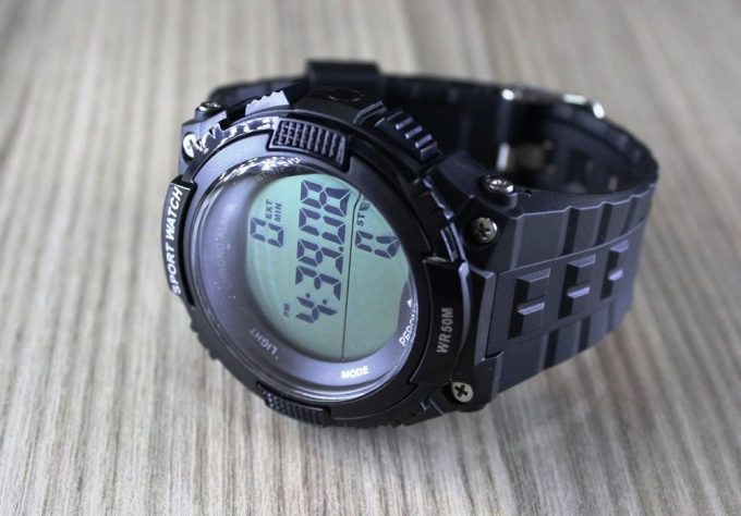 Pedometer Watch Battery Life