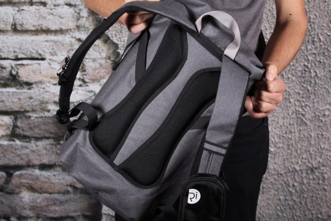 Roll Top Backpack Padding
