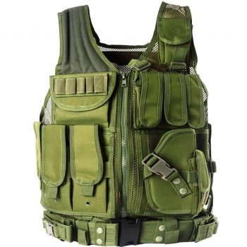 Yakeda Army Fans Tactical Vest