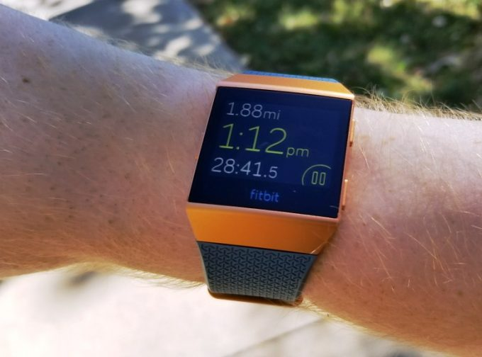 Fitness Watch Display