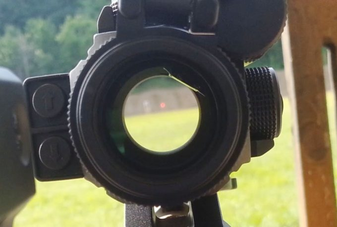 Red Dot Sight Reticle