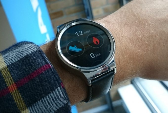 Android Watch as Fitness Tracker
