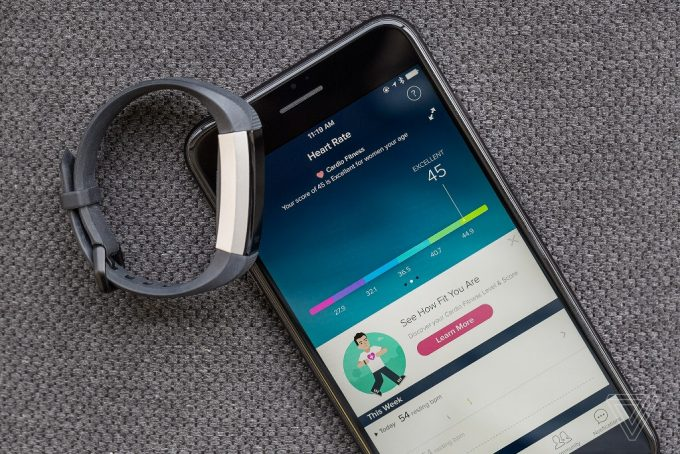 Fitness Watch and Mobile Phone