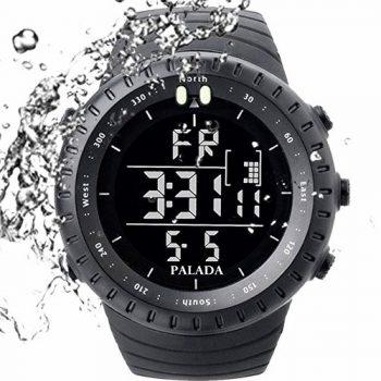 Palada Men's Sports Digital Watch