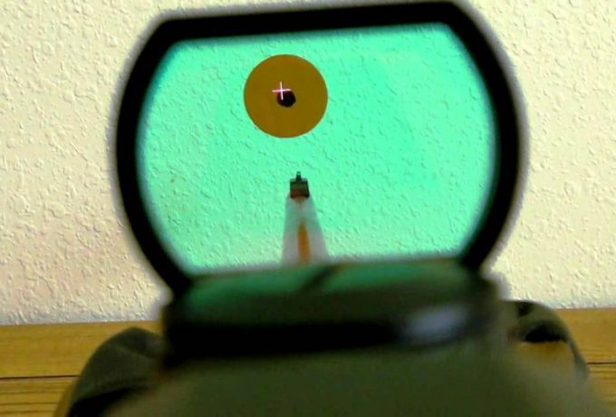 Reflex Sight Crosshair Reticle