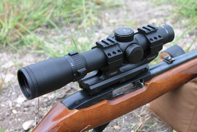 Scope Windage and Elevation Adjustments