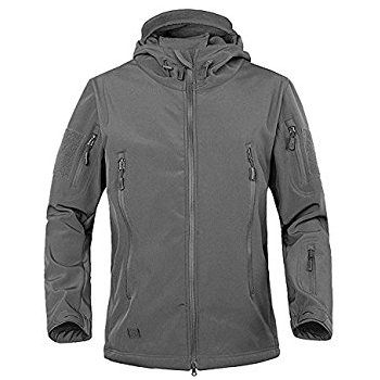 TACVASEN Military Softshell Tactical Jacket