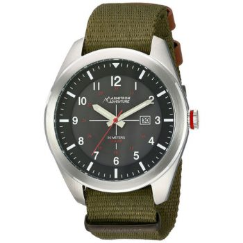 Armitron Adventure Men's AD 1001BKSVGN