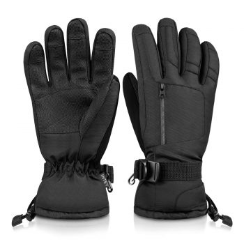 INTEY Ski Gloves Snow Winter Gloves