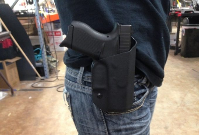 Testing the Holster